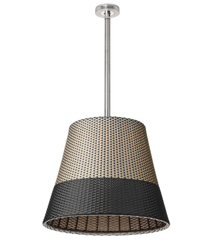 Romeo Outdoor Ceiling Weather Resistant Pendant Lamp