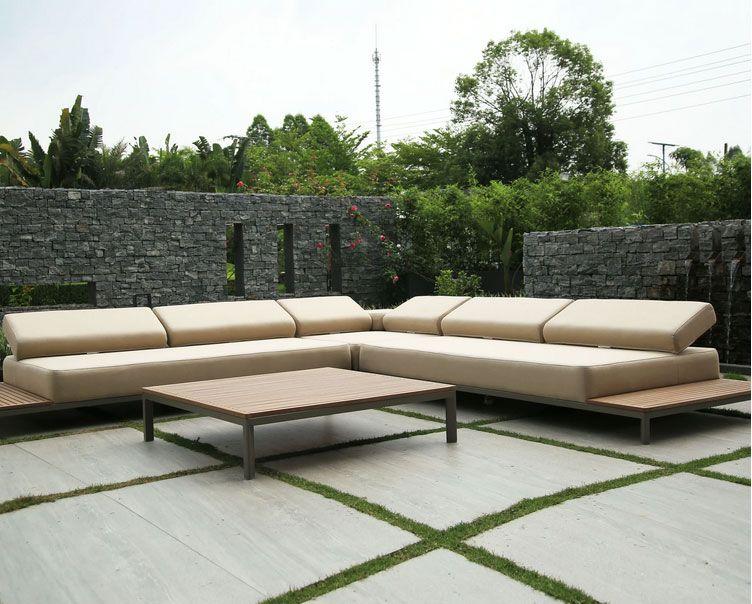 Quadra Outdoor Sectional Sofa Set