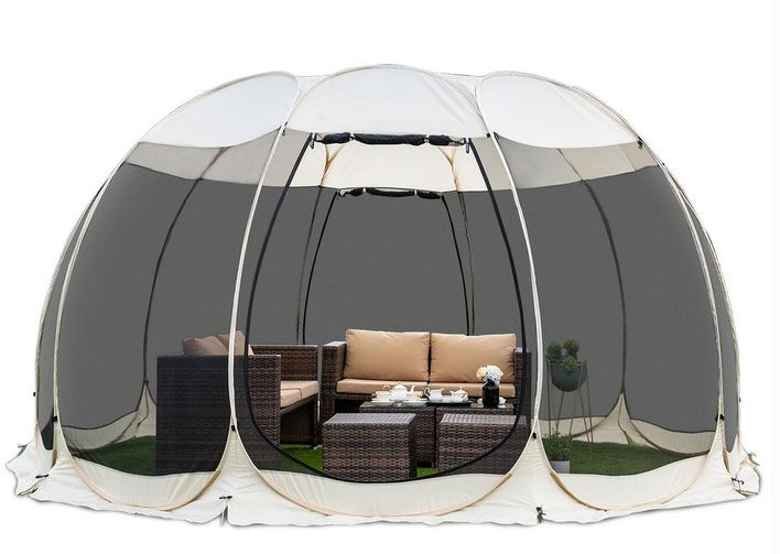 Screen House Outdoor Pop Up Canopy Tent Patented